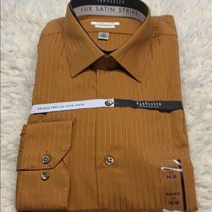 VanHeusen Shirt Sz 17 34/35 Button Shirt Sz 17 NWT